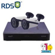 پکیج دستگاه xvr و دوربین rds