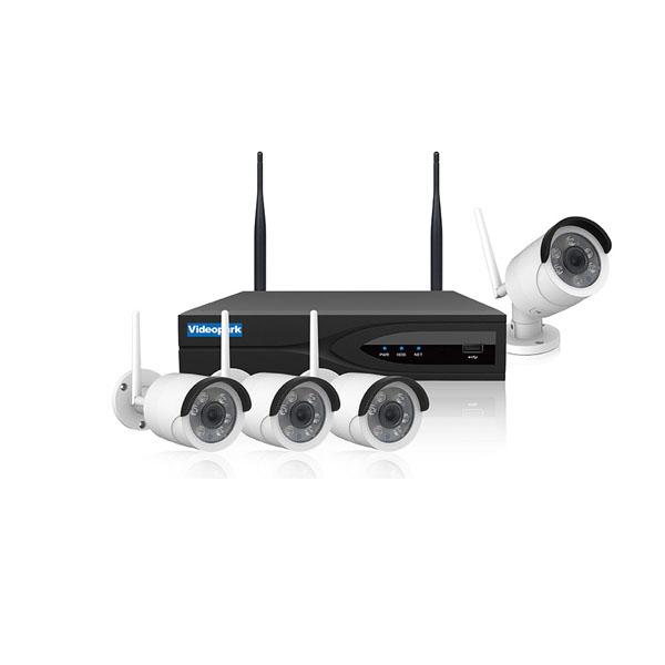 پک دوربین مداربسته تحت شبکه VIDEOPARK- 4CH Wifi NVR Kit
