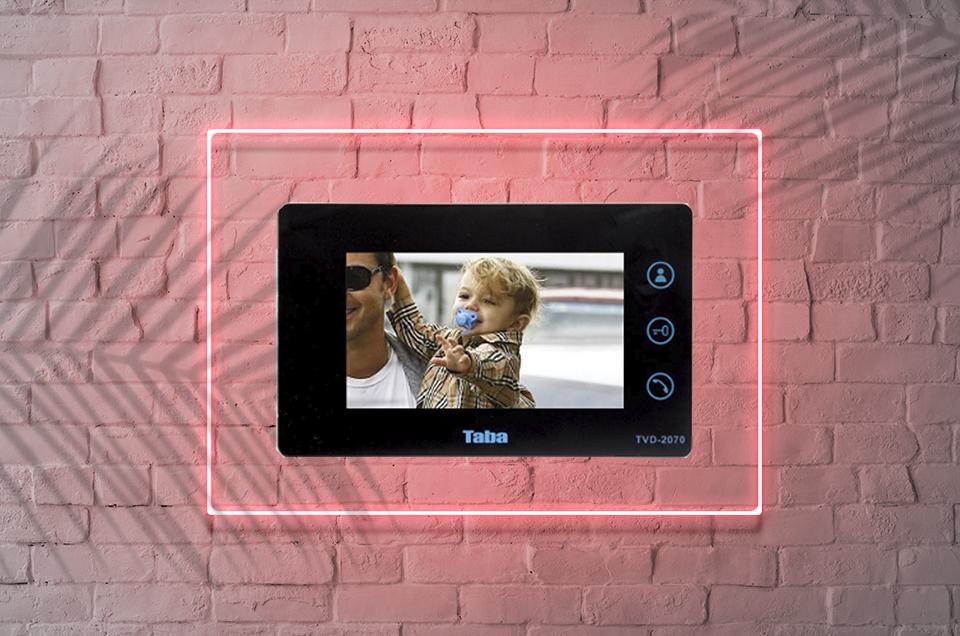 بررسی فنی و تخصصی آیفون تصویری 2070 تابا مدل TVD-2070